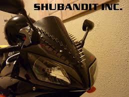 amazon com motorcycle sportbike metal spike strips windscreen