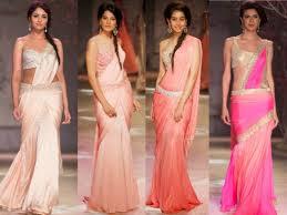 Reception Sarees For Indian Weddings Latest Designer Saree Trends For A Summer Wedding Indian Makeup