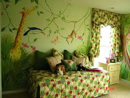 Jungle Wall Decal For Nursery Baby Room Jungle Wall Decals Jungle Baby Room Project Nursery