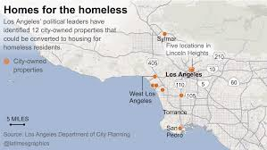 Parking Restrictions Los Angeles Map by Ballot Measure Could Upset L A U0027s Plan For Housing The Homeless