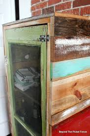 beyond the picket fence rustic jelly cupboard diy