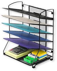 Desk Letter Organizer Simplehouseware 6 Trays Desktop Document Letter Tray