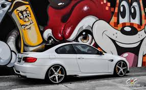 bmw m3 modified alpine white m3 on 20 inch cec c884 in gunmetal bmw news at
