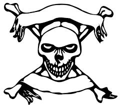 skull and crossbones free stock photo illustration of a skull