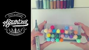 markers and paper for interior sketching my min u0026 max sets