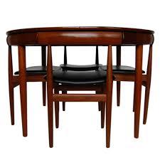 hans olsen frem rojle mid century danish modern dining table