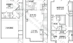 House Plans Small Lot Appealing House Plans Small Lot Hillside Story Narrow 3 Storey For