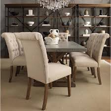 Tufted Dining Room Chairs Sale High Back Dining Chairs Houzz With Regard To Awesome Residence
