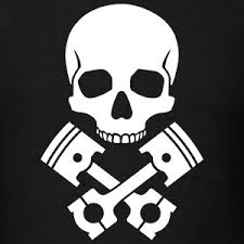 skull pistons t shirt spreadshirt