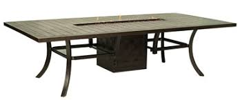 outdoor rectangular dining table rich s for the home fire pits