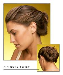 pin curl easy hairstyles for hair pin curl twist 17 hairstyles that