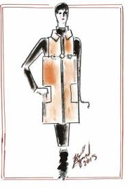 inside chanel la giacca faschion ilustrations pinterest