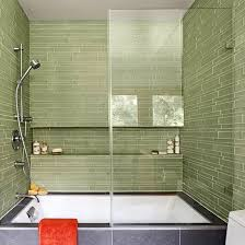 Green Tile Bathroom Ideas Ideas To Incorporate Glass Tile In Your Bathroom Design Info