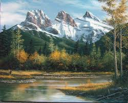 landscape painting artists 4560 best paintings mountains and streams images on