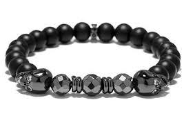 skull bracelet bead images Montbes kroxan beaded skull bracelet montbes jpg