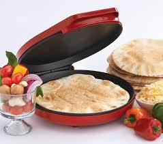 amazon com betty crocker bc 2958cr pizza maker red kitchen u0026 dining