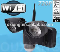Motion Light With Camera Factory Price Motion Sensor Led Light With Mini Hidden Camera Wifi