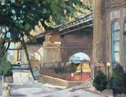 watch me paint urban painting queensboro bridge