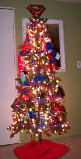 Christmas Tree Decorating Ideas Pictures 2011 Superman Christmas Tree Christmas Ideas