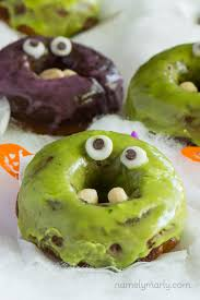 Halloween Monster by Vegan Halloween Monster Donuts Recipe Namely Marly