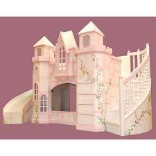 Princess Castle Bunk Bed Bunk Amp Loft Beds Features Tent Wayfair Princess Castle Twin Size