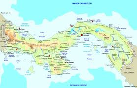 Online World Map by Map Of Panama Maps Worl Atlas Panama Map Online Maps Maps Of