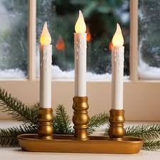 automatic window candle lights brass electric window candles wayfair