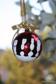 of great ideas five fingers handprint snowman ornament
