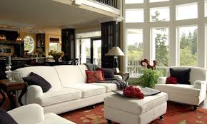 painting an open kitchen and living room cozy home design