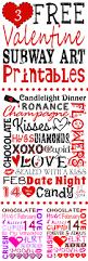 free valentine printables subway art glitter u0027n spice