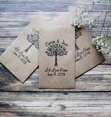 seed packet wedding favors seeds seeds favors and wedding