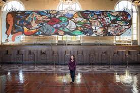 siege social cultura barbara carrasco s legendarily censored mural on l a history finds