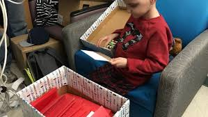 terminally ill boy with wish for christmas cards receives 14 000