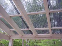 Clear Patio Roofing Materials Grillzebo Gazebo Pergola Suntuf Corrugated Roof Panels Palram