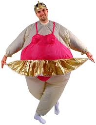amazon com ballerina inflatable costume size standard