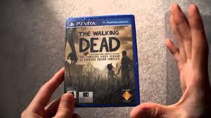 ps vita black friday 2017 unboxing the walking dead game season 1 ps vita psn sony