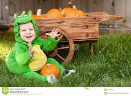 Dragon Baby Halloween Costume Laughing Baby Dragon Halloween Costume Royalty Free Stock Photo