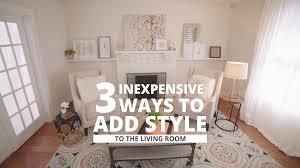hgtv livingroom smart chic living rooms hgtv