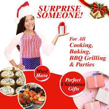 Baking Apron For Womens Kitchen Aprons With Pocket U0026 Bib Full Length For Women U0026 Men For