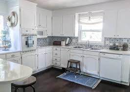 kitchen makeover with cabinets bright white kitchen makeover on a budget lovely etc