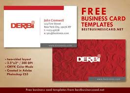 Red Business Cards Red Business Card Template In Minimalist Style Best Business