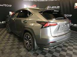lexus nx demo for sale pre owned 2017 lexus nx 200t demo unit f sport series 1 4 door