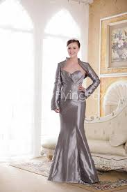 plus size wedding dresses with sleeves or jackets silver seetheart neckline trumpet length mermaid plus