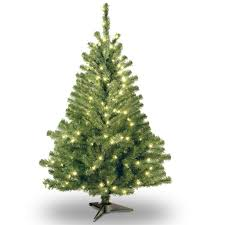 4 ft pre lit spruce artificial tree clear lights