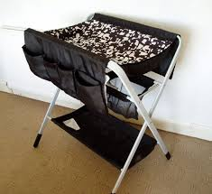 Portable Changing Tables Portable Baby Changing Table Black Rs Floral Design Innovative