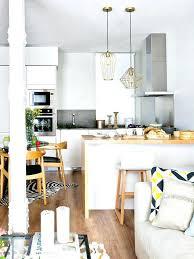 cuisine ouverte sur salon surface deco salon surface cuisine ouverte sur salon surface