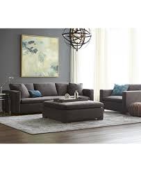 Over Sized Sofa Cirillo Fabric Oversized Sofa Xxl Created For Macy U0027s Furniture