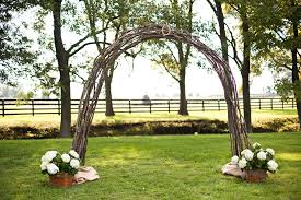 wedding arch grapevine grapevine wedding arch
