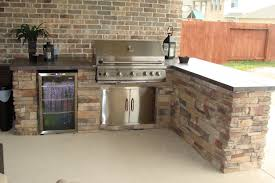 kitchen amazing outdoor kitchen by houston decoration with white