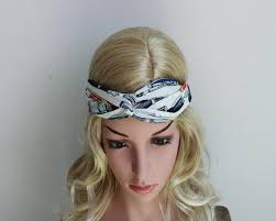 korean headband wholesale cross printing pen turban headband women hair